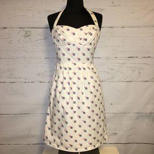 Girls From Savoy Sincerely Paris Halter Dress